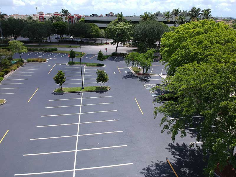 Codina Downtown Asphalt Paving Job In South Florida